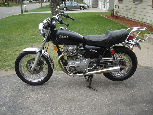Motorcycles in my garage past and present show your stuff for 1981 yamaha midnight maxim 650