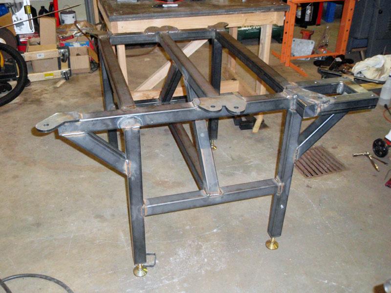 My Welding Fixture Table