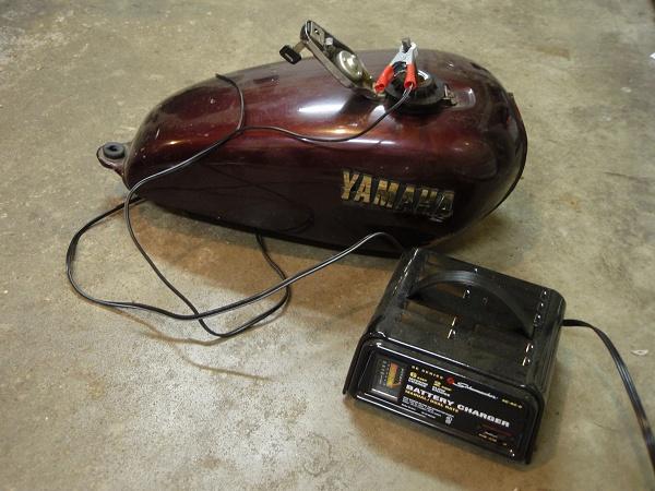 Yamaha Bolt Gas Tank Removal